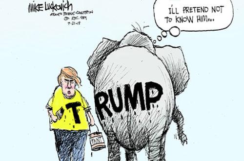 Article : Un éléphant ça peut (encore) Trumper* énormément
